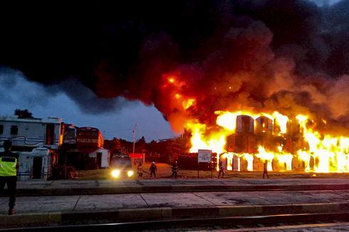 Kereta yang Terbakar di Konservasi Subang Berumur Lebih dari 30 Tahun