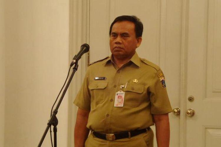 Sekretaris Daerah DKI Jakarta Saefullah