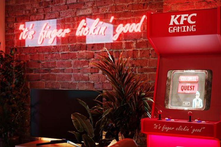 Hotel pop-up bertema KFC di London, Inggris yang akan dibuka selama 11 hari mulai 18 Agustus 2021.