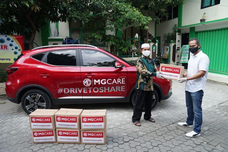 MG Motor Indonesia salurkan bantuan untuk memerangi Covid-19