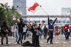 Ada Demo Tolak UU Cipta Kerja, Polisi Tutup Jalan di Sekitar Gedung DPR dan Istana Merdeka