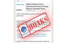 [HOAKS] Aplikasi Peduli Lindungi Rawan Phishing dan Malware