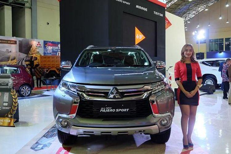 Booth Mitsubishi di POMA 2016