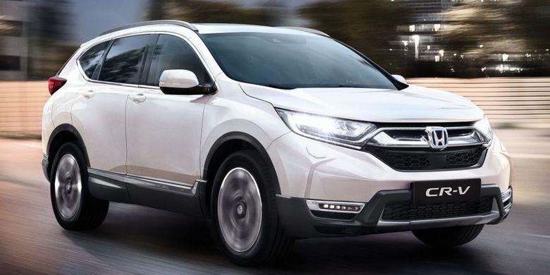 Ilustrasi Honda CR-V Hybrid 2021