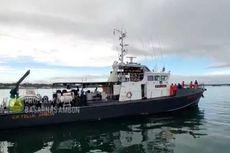 Kapal Berpenumpang 100 Orang Mati Mesin di Perairan Aru, Tim SAR Lakukan Pencarian