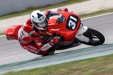 Gerry Belum Bisa Sumbang Poin di Race 2 Moto3 FIM CEV Repsol Seri 6
