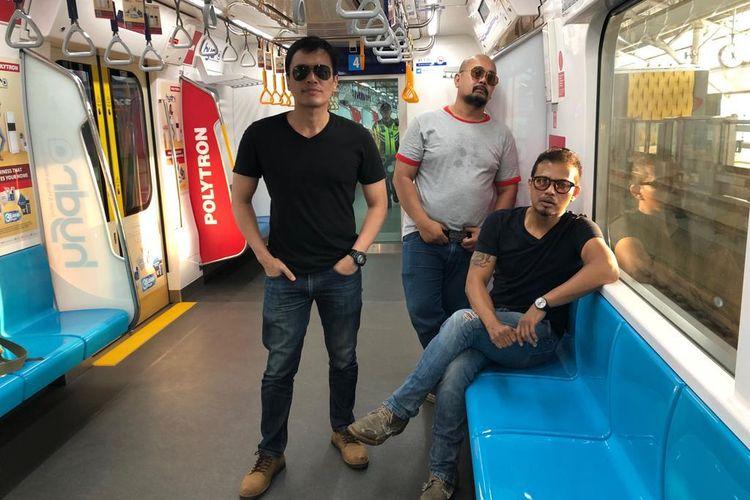 Personel grup band Jakvegas (dari kiri) Dika, Bimo, dan Gugun dok. Pribadi