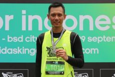 Telat Lomba Lari, Agus Yudhoyono Akhirnya Minta Maaf