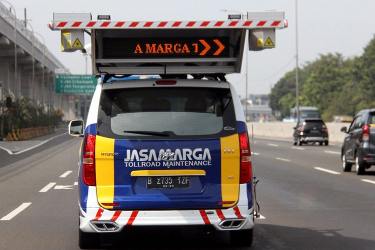 Hyundai H-1, jadi Mobil pintar Jasa Marga untuk survei kondisi jalan tol