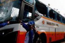 Tabrak Pengantin Baru, Bus Harapan Jaya Dihancurkan Warga