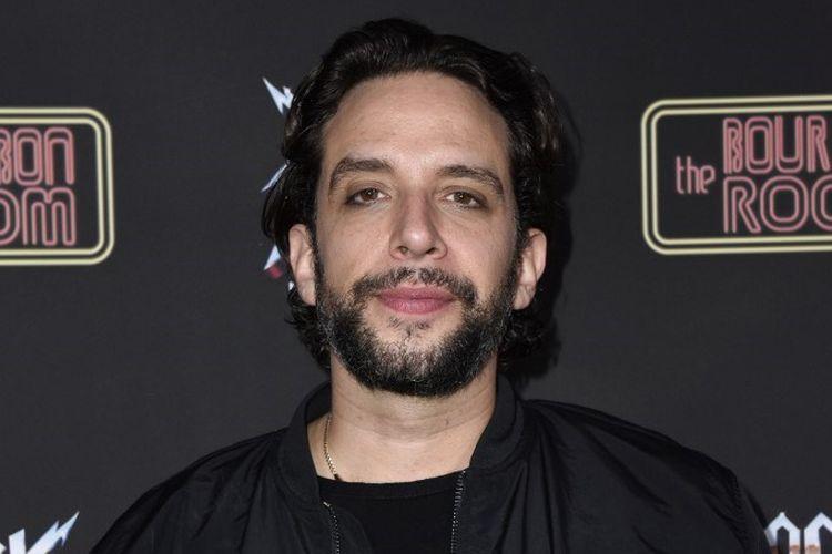 Aktor Broadway Nick Cordero menghadiri pertunjukan Rock of Ages at Hollywood At The Bourbon Room di Hollywood, California, pada 18 Desember 2019.