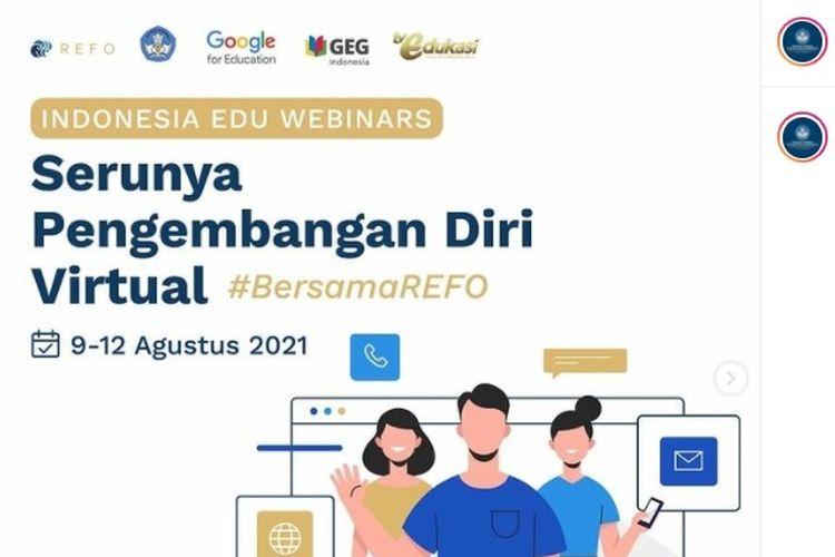 Webinar Kemendikbud 2021