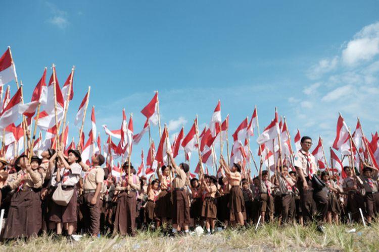 Kegiatan Gerakan Pramuka Indonesia