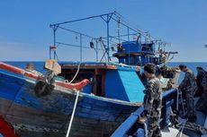 Langgar Ketentuan, KKP Amankan Kapal RI di Selat Makassar
