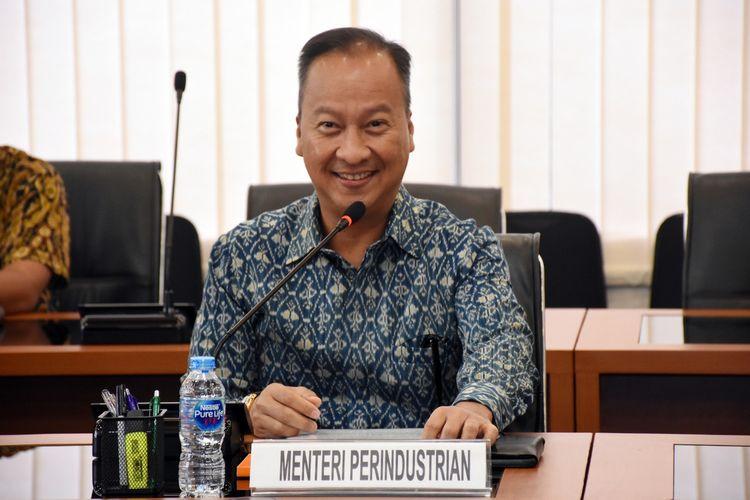 Menteri Perindustrian (Menperin) Agus Gumiwang Kartasasmita bertemu dengan perusahaan asal Korea Selatan, LG Chemical, di Jakarta, Rabu (8/1/2020).