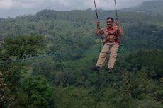 Ayunan Langit, Destinasi Wisata Pemacu Adrenalin di Kulon Progo