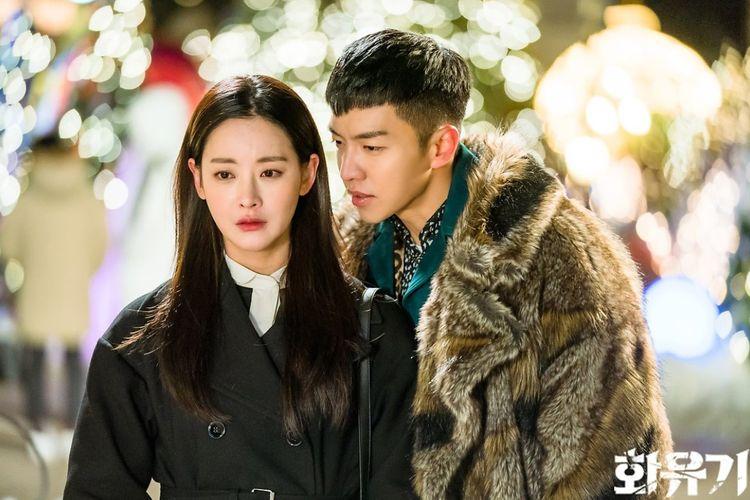 Oh Yeon Seo dan Lee Seung Gi dalam serial drama fantasi A Korean Odyssey (2017).