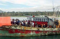 Kapal Pencari Suaka yang Tenggelam di Cianjur Berangkat dari Garut