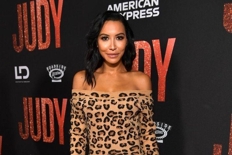 Aktris Naya Rivera menghadiri pemutaran perdana Judy di Samuel Goldwyn Theater, Beverly Hills, California, pada 19 September 2029.