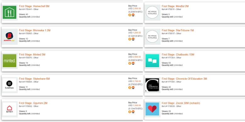 Listing data pengguna dari berbagai layanan oleh kelompok hacker ShinyHunters di pasar gelap dark web.