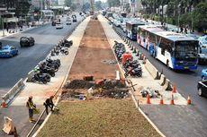5 Hal yang Belum Rampung Dikerjakan di Trotoar Sudirman-Thamrin