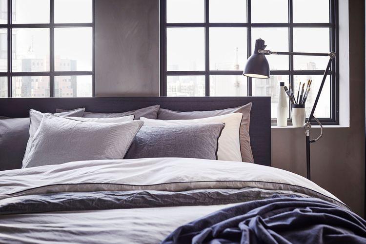 ilustrasi kamar tidur IKEA
