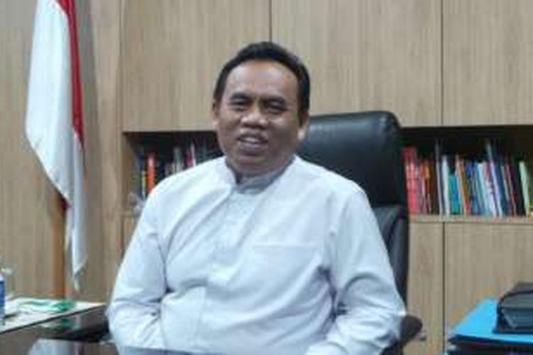 Sekretaris Daerah (Sekda) DKI Jakarta Saefullah saat ditemui wartawan di ruang kerjanya di Balai Kota, Kamis (28/4/2016).