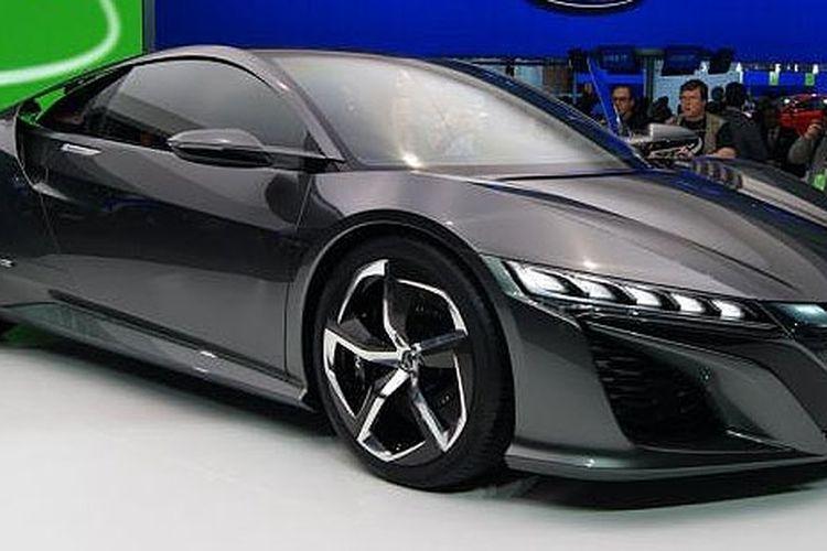 Konsep Honda NSX generasi baru di Detroit Motor Show.