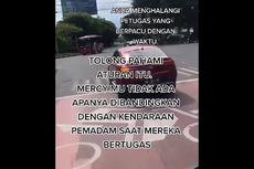 Video Viral Mobil Damkar Dihalangi Mercy, Ternyata Ini Faktanya