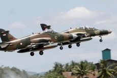 Tangki Cadangan Pesawat Latih TNI AU Jatuh di Riau