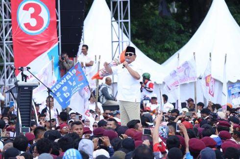 Prabowo: Kalau Ingin Saya Jadi Presiden 2019, Kalian Harus Kerja Keras