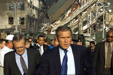 Bush Bela Keputusan Invasi Afghanistan pasca Serangan 9/11: