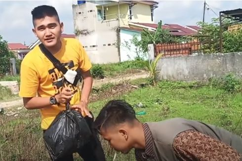 Sebelum Daging Isi Sampah, YouTuber Edo Putra Pernah Buat Prank THR Kosong