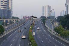 Suasana Lengang Jalan di Jakarta Saat Lebaran Hari Pertama