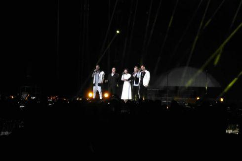 'Sedapnya' Duet Boyzone dan Isyana Sarasvati di Panggung Konser