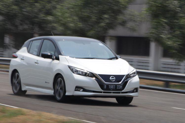 Tes drive Nissan Leaf