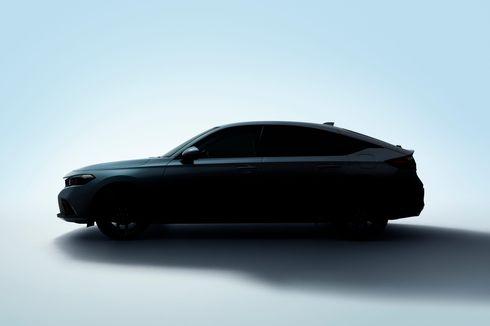 Honda Ungkap Siluet Civic Hatchback Terbaru Sebelum Peluncuran