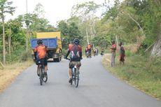 Etape III Jelajah Sepeda Flores, Pesepeda Kenyang Tanjakan