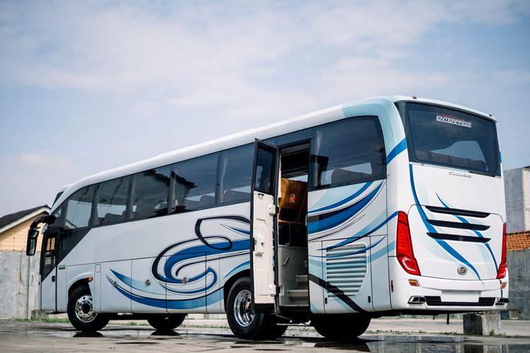 Bus baru Stadabus Coach Enterprise(Muhammad Alif Naufal)