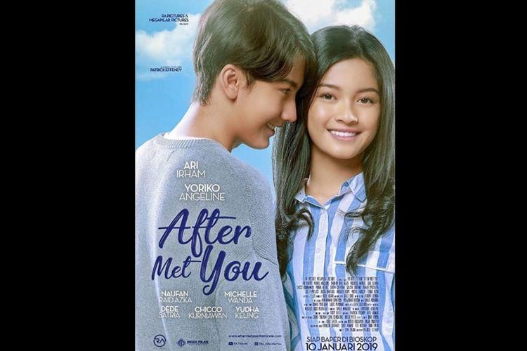 Poster film After Met You, dibintangi Ari Irham dan Yoriko Angeline