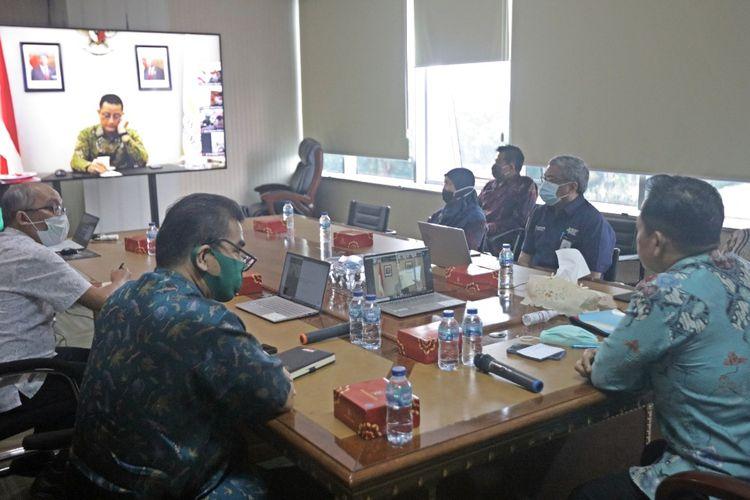 Rapat Pembahasan Kelayakan Beras Untuk Penanganan Stunting secara Virtual