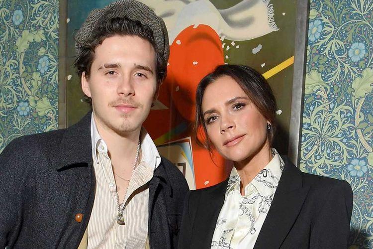 Brooklyn dan Victoria Beckham.