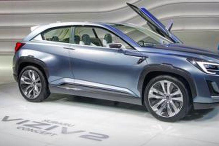 Subaru Viziv2 Concept di Geneva Motor Show 2014.
