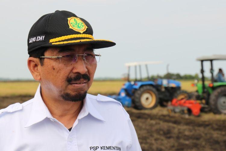 Direktur Jenderal Prasarana dan Sarana Pertanian (PSP) Kementerian Pertanian (Kementan) Sarwo Edhy