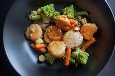 Cara Masak Scallop yang Mudah, Resep Scallop Tumis Sayuran