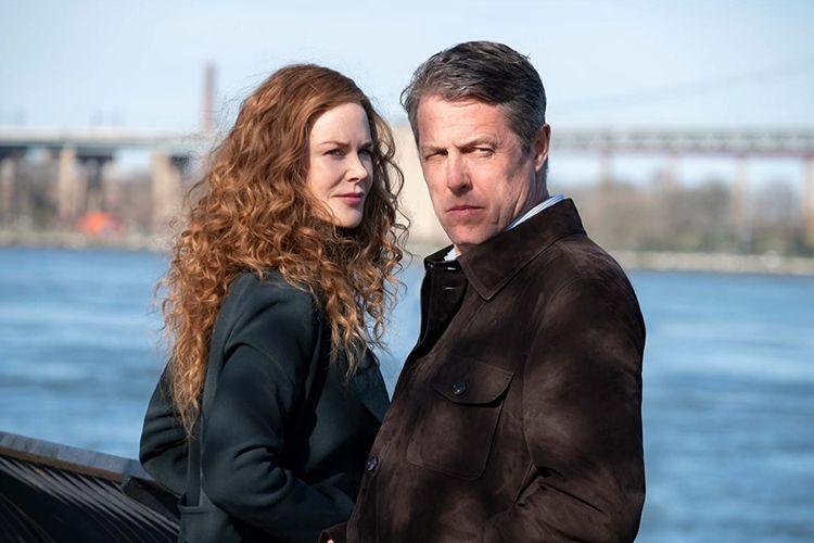 Nicole Kidman dan Hugh Grant dalam drama mini seri The Undoing (2020).