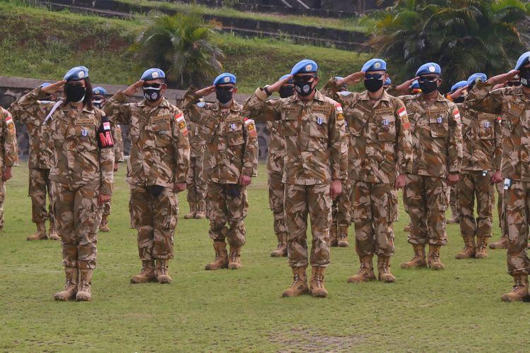 Sebanyak 186 prajurit TNI yang tergabung dalam Satuan Tugas (Satgas) Kontingen Garuda (Konga) United Nations Interim Force in Lebanon (UNIFIL) resmi memenuhi misi perdamaian di Lebanon.