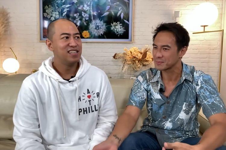 Pandji Pragiwaksono dan Daniel Mananta
