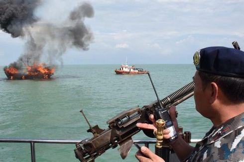 Sepanjang 2018, Korpolairud Polri Tindak 17 Kapal Asing atas Penangkapan Ikan Ilegal