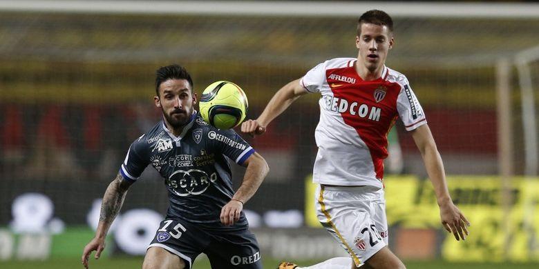 Mario Palasic ketika masih dipinjamkan ke AS Monaco pada musim 2015-2016.